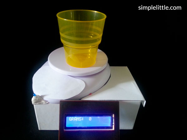 Smart Weighing Scale for Training