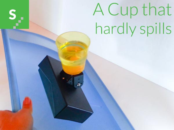 A Cup that hardly spills