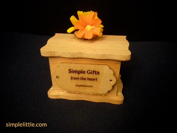 A Customized Gift - Musical Box