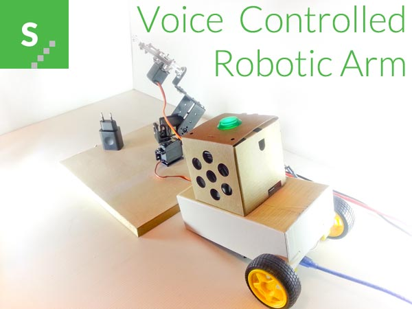 A Voice Controlled Robotic Arm