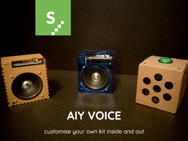Custom AIY Voice Kit