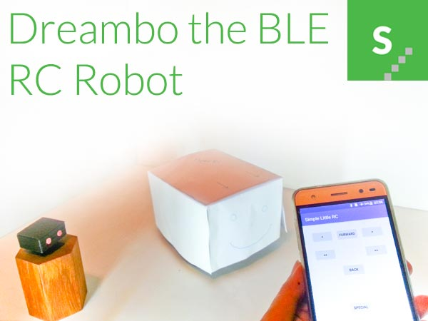 Dreambo the Bluetooth RC robot!