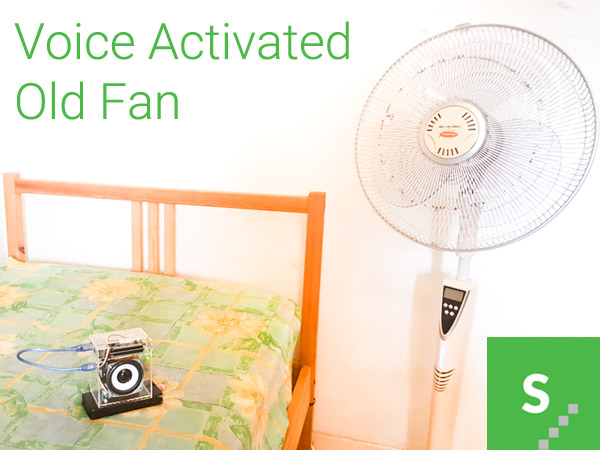 A Voice Activated Old Fan Experiment