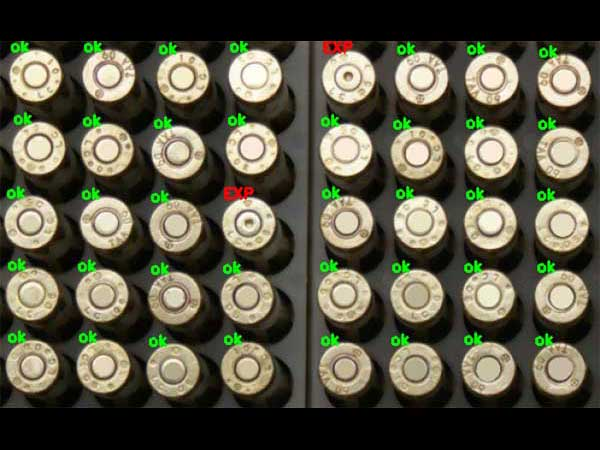 Identifying expended and unexpended rounds